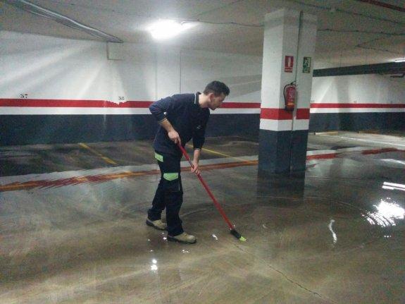 Sacar agua sotanos inundados