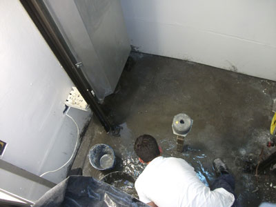 Sacar agua fosos ascensores